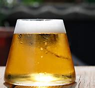 Transparent Classic Drinkware, 280 ml Ergonomic Design Glass Beer Cocktail Glass