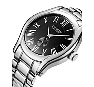 CURREN Fashion Design Is Contracted Stainless Steel Waterproof Quartz Watch