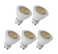 5pcs 3W GU10 LED Spotlight COB Warm /Cool White Decorative COB LED Recessed Lighting(220-240V)