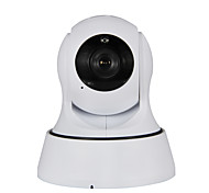 1.0 MP PTZ Indoor with Day Night Support TF Card 64GB(Day Night Motion Detection Dual Stream Remote Access IR-cut Wi-Fi Protected Setup Plug and play)