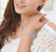 Chain Bracelet Rhinestone Others Fashion Gift Jewelry Gift 1pc