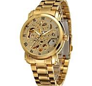 Men's Women's Unisex Sport Watch Dress Watch Fashion Watch Wrist watch Mechanical Watch Calendar Automatic self-winding Alloy BandCharm