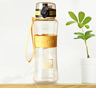 чашка Переносной Подарок С защитой от протекания Для Повседневные Путешествия Спорт Походы Кофе Чайный Подарок Plastic