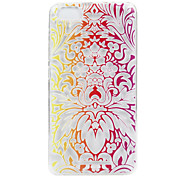 For Wikon Lenny3 phone Case Gradual Flower Lace Embossed Pattern TPU Material High Penetration