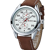 Curren 8170 Personality Scale False Three Eye Movement Quartz Watch