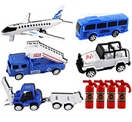 Planes & Helicopter Pull Back Vehicles Car Toys 1:28 ABS Blue Model & Building Toy