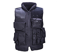 Unisex Vest/Gilet Hunting Protective Spring Summer Fall/Autumn Winter Black