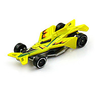 Coche de Fórmula 1 Juguetes 1:64 Metal Plástico Amarillo
