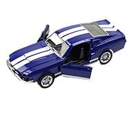 Race Car Toys Car Toys 1:28 Metal Plastic Blue Model & Building Toy