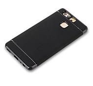 For Plating Case Back Cover Case Solid Color Soft TPU for Huawei Huawei P9 Huawei P9 Lite Huawei P8 Lite