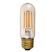 3.5 E26 Lampadine LED a incandescenza T 4 COB 300 lm Ambra Intensità regolabile Decorativo AC 110-130 V 1 pezzo