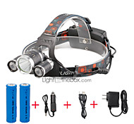 U'King® ZQ-X807#2-US CREE XML T6  2R5 3 LED 4000LM 4Modes Multifunction Headlamp Bicycle Light for Camping Hiking