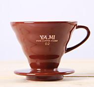 filtro de café de cerâmica, 1 xícara de gotejamento cafeteira manual do reutilizável
