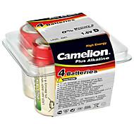 camelion lr20-PB4 d alcalina 1.5V 4 pacco