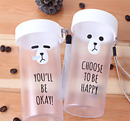 Cartoon Drinkware, 360 ml Decoration Plastic Juice Water Tumbler