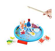 Fishing Toys Model & Building Toy Toys Novelty Toys Wood Rainbow For Boys