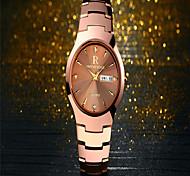Men's Dress Watch Fashion Watch Quartz Alloy Band Charm Casual Luxury Black Silver Gold Rose Gold