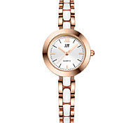 Women's Wrist watch Quartz Alloy Band Silver Gold