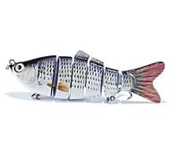 1 pcs Minnow Fishing Lures Minnow Black White g/Ounce mm inch,Plastic General Fishing