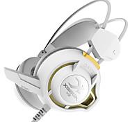 Xiberia V3 Vibration Gaming Headphones Over Ear LED Light Stereo Headset Pc Gamer Computer Super Bass Glow Earphones With Mic