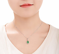 Pendants Agate Heart Basic Heart Green Jewelry Daily Casual 1pc