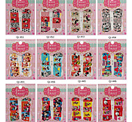 10PCS Water To Stick All Posted Mickey A Series Of Nails Applique