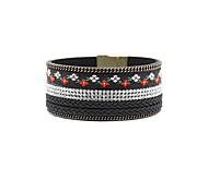 Fashion Women Multi Rhinestone Set Embroidery Bracelet