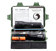 UKing ZQ-X1063B#-EU Zoonmable XM-L2 3000Lm  5Mode LED Flashlight Torch Kit with Lanyard