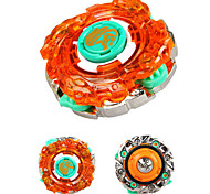 Gyro Toy  Spinning Top Leisure Hobby Toys Novelty Circular Polycarbonate ABS Orange For Children