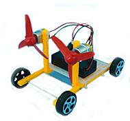 Brinquedos Para meninos Brinquedos de Descoberta Kit Faça Você Mesmo Brinquedo Educativo Moinho de Vento ABS Amarelo