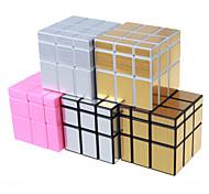Shengshou® Glatte Geschwindigkeits-Würfel 3*3*3 Geschwindigkeit Profi Level Magische Würfel Gold Rosa Silber Glatte AufkleberAnti-Pop