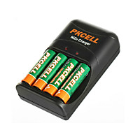 Pkcell 2500mWh 8186 AA 1.6V Nickel Zinc Battery 300mAh 4 Pack