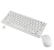 Fashion 2.4G Ultra-thin Wireless Keyboard and Mouse Combo Computer Accessories  for Laptop PC Windows Tv Box Home Office Game