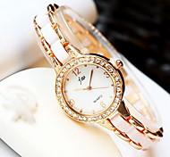 Mulheres Relógio de Moda Relogio digital Quartzo Digital Lega Banda Legal Casual Ouro Rose Ouro Rose