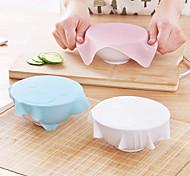 1шт новый многофункциональный силиконовые Саран обернуть многоразового использования цепляется крышка хранения пленки холодильник еды