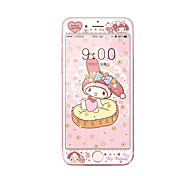 For Apple iPhone 7 4.7 Tempered Glass Screen Protector with Soft Edge Full Screen Coverage Front Screen Protector Cartoon Pattern