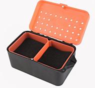 красный червь окно дождевого коробка мульти - функциональный с губкой дождевого коробки прохладном промыслового живой приманки коробки