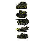 Military Vehicle Vehicle Playsets Car Toys 1:64 Metal Plastic Green Model & Building Toy
