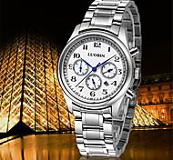 Fashion Watch Swiss Designer Quartz Stainless Steel Band Charm Silver
