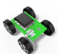 Toys For Boys Discovery Toys Solar Powered Toys DIY KIT Car ABS Black Green