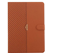 For IPad Mini 4 3 2 1 For With Stand Flip Case Full Body Case Solid Color Hard PU Leather