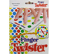 Twister Finger  Desktop Games For Children Educational Toy Leisure Hobby Toys Novelty Toys Plastic Rainbow