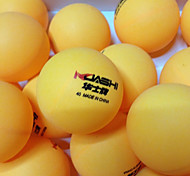 135pcs 2 Stars 9 Table Tennis Ball Yellow White Indoor Performance Practise Leisure Sports
