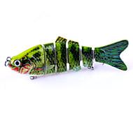 1 pc Esche rigide Esche rigide Colori casuali 0.018 g Oncia mm pollice,Plastica Pesca dilettantistica