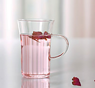 Transparent Drinkware, 200 ml Decoration Glass Coffee Milk Tea Cup