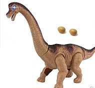 Electric Toy Dragon Dinosaur Model Brachiosaurus Egg Laying Robot 2.4G Walking Kids' Electronics