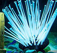 Aquarium Decoration Waterplant Non-toxic & Tasteless Silicone Red Green Blue