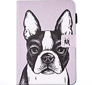 For IPad Air 2  IPad Air Case Cover Dog Pattern PU Skin Material Flat Protective Shell