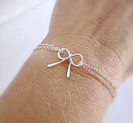 Bowknot Chain Bracelet Alloy Others Movie Jewelry Handmade Bohemia Simple Gifts Jewelry GiftGold