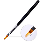 1PC Black Handle Nylon Hair Ombre Brush Nail Art Brush UV Gel Professional Nail Tools